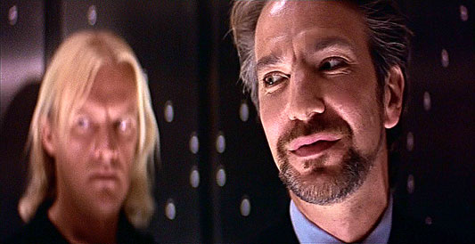 alan rickman die hard. Rickman in DIE HARD (1988)