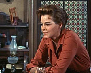 Angie Dickinson in RIO BRAVO (1959)