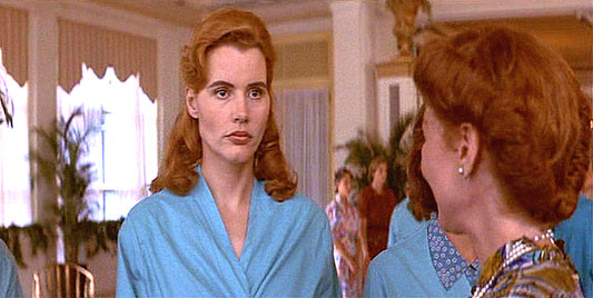 geena davis now. Geena Davis in EARTH GIRLS ARE