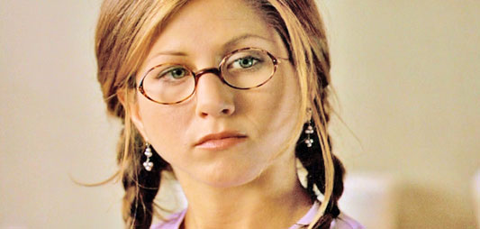 Aniston in THE OBJECT OF MY AFFECTION (1998).