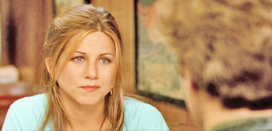 Aniston in PICTURE PERFECT (1997).